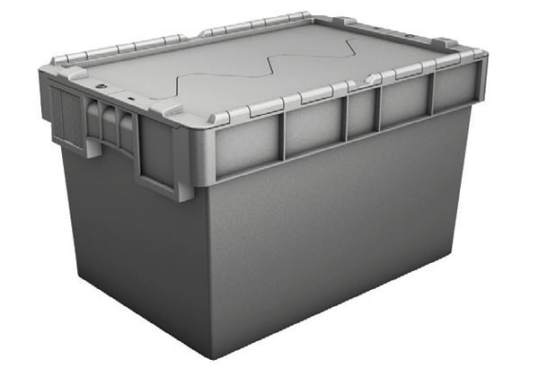 68 litre plastic security crate